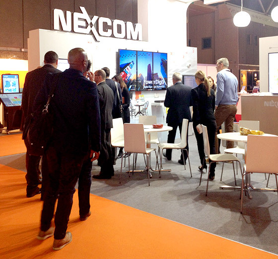 Discover NEXCOM's Smarter Public Transportation and Special Purpose Vehicle Solutions at ISE 2015