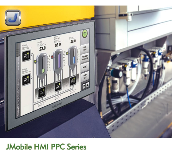 NEXCOM Empowers HMI Solution by JMobile Suite and X86-based Panel PC