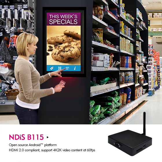 Boost Hyper Attention and Engagement in Supermarkets with Digital Signage Players