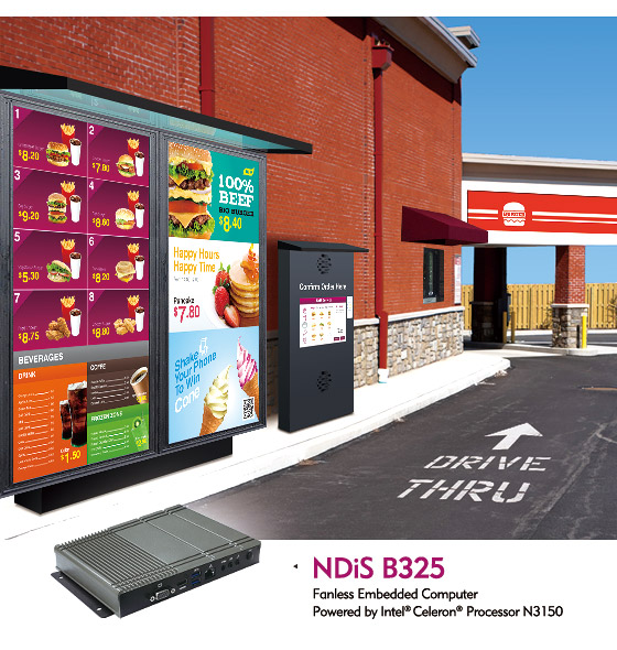 Rugged NDiS B325 Digital Signage Player Gears up for Semi-outdoor Kiosks/Signages