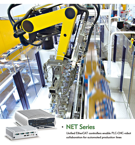 EtherCAT Controllers Modernize Production Lines with C/C++ & IEC 61131-3 Support