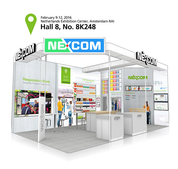 NEXCOM Introduces Responsive Store Solution at ISE