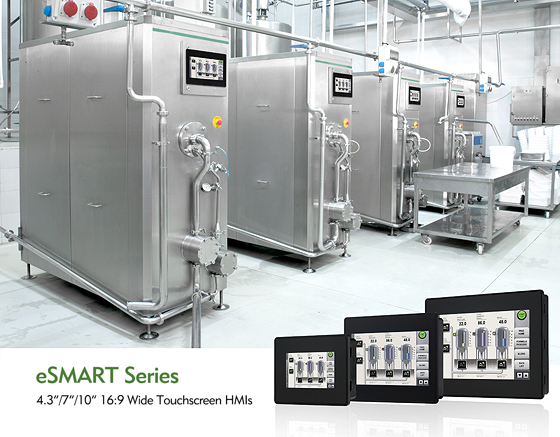 eSMART HMIs Give Manufacturers A Firm Grasp of Manufacturing Status