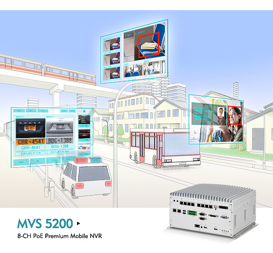 MVS 5200 Turns Mobile Surveillance into Operational Intelligence for Public Transport