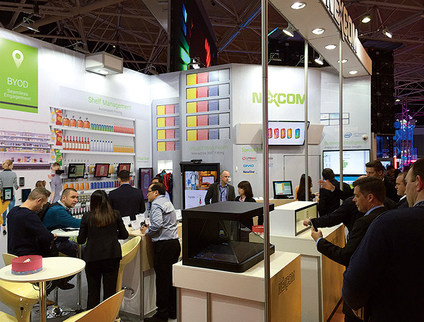 NEXCOM Successfully Attracted Visitors with Responsive Store Solutions at 2016