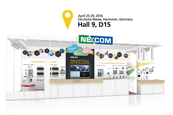 Explore NEXCOM's Industry 4.0-based Solutions Transforming the Future of Manufacturing at 2016 Hannover Messe