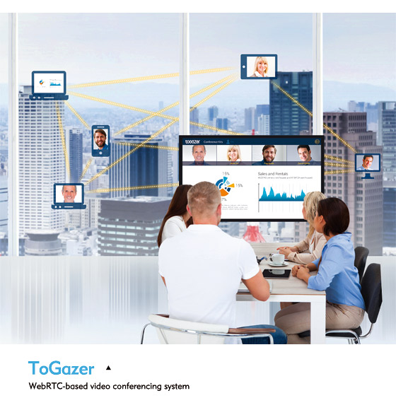 ToGazer Provides Group Video Conferences for Business, Education & Leisure