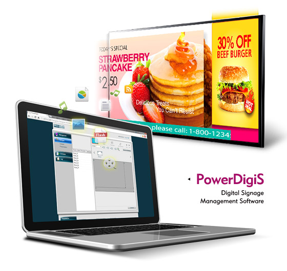 NEXCOM Digital Signage Software PowerDigiS Boosts Customer Satisfaction for SMB Retailers