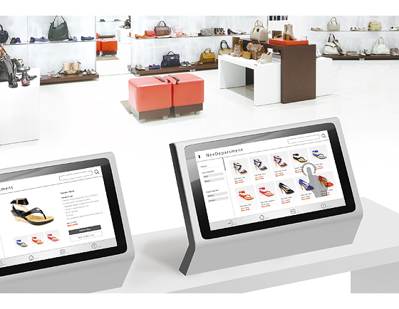 Interactive Kiosks Draw in O2O Sales for Department Stores
