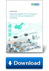 NEXCOM Simplifies OT-IT Convergence to Scout for Factory Intelligence for Enterprises
