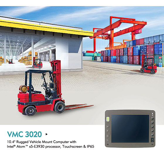 Vehicle Mount Computer Smoothes the Way to Warehouse Efficiency