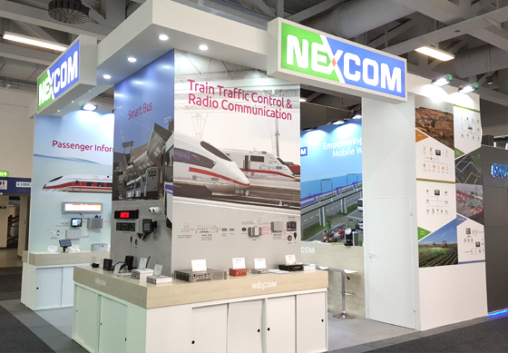 NEXCOM Robust and Secure Transportation Computers Fulfill Demands at InnoTrans