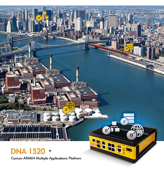 NEXCOM DNA 1520 Enables Nimble Service Delivery of Industrial Networking Appliances
