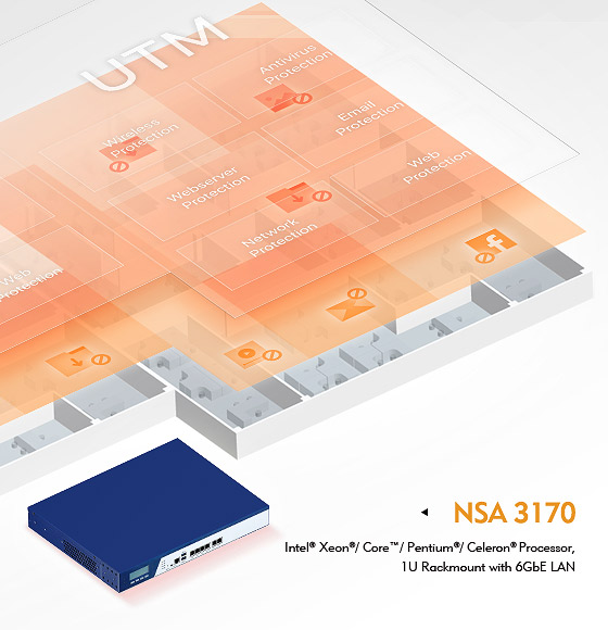 NSA 3170 Defends SMB Network Security with Elasticity to Conform to Different Security Policies