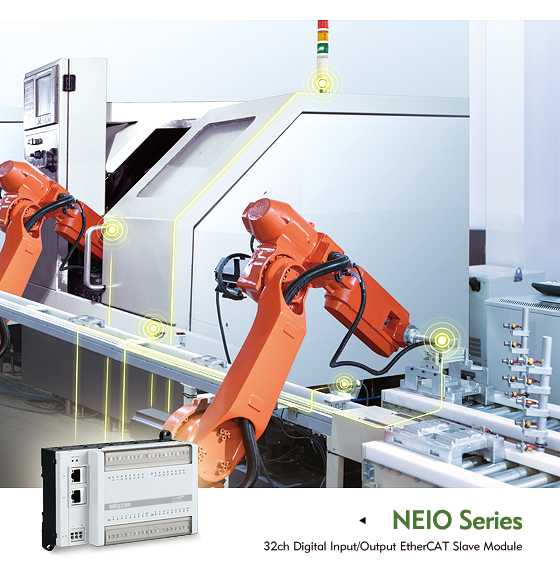 NEXCOM NEIO I/O Modules Ensure EtherCAT Compatibility for Networked Control Systems