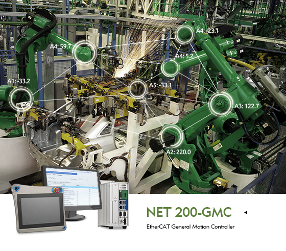 NEXCOM EtherCAT General Motion Control Solution Simplifies Robotic Production Line Coordination
