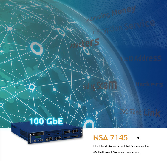 NSA 7145 Balances Network Security and Performance for Enterprise Networks