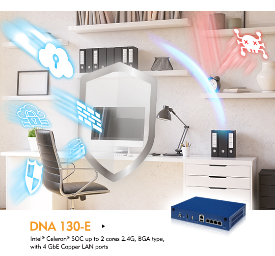 DNA 130-E Mitigates Security Risks in SOHO Network Communication
