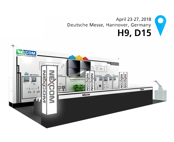 Explore How NEXCOM Boosts Car Battery Production for Smart Manufacturing at 2018 Hannover Messe