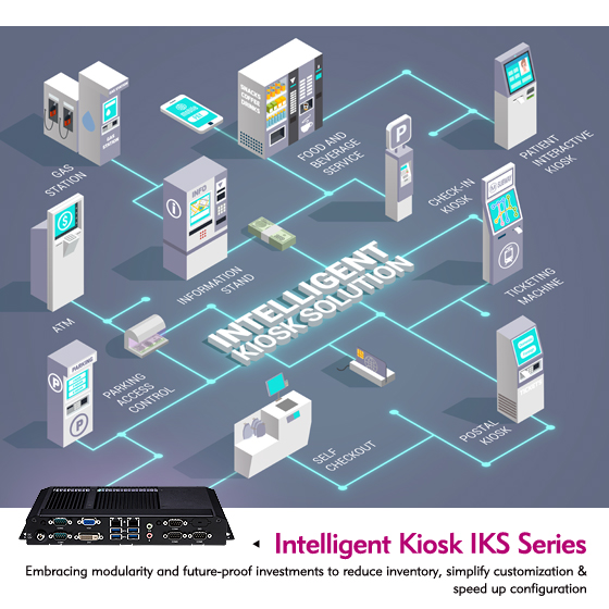 Intelligent Kiosk IKS Series Expands Self-Service Landscape With Supreme Flexibility
