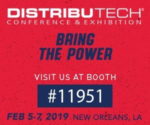 DistribuTECH: February 5-7, 2019 – New Orleans, LA