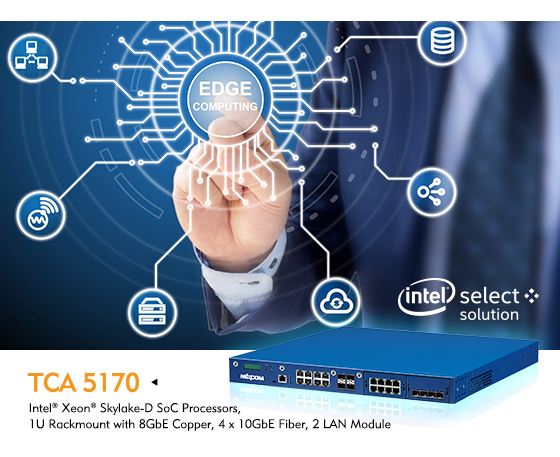 NEXCOM Launches TCA 5170, a Verified Intel® Select Solution for uCPE