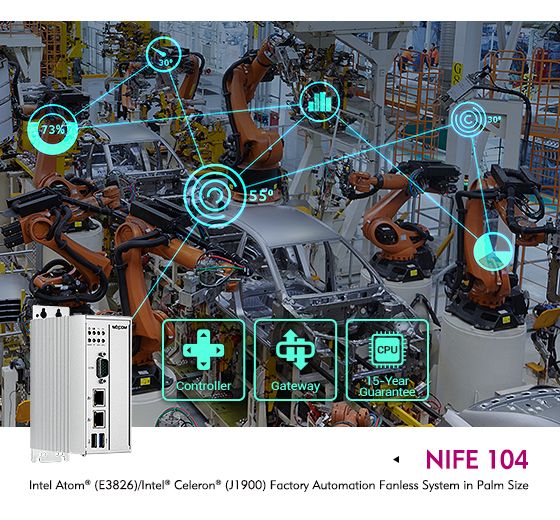 Discover a Better Automation Gateway and Controller with the NIFE 104 Fanless Computer