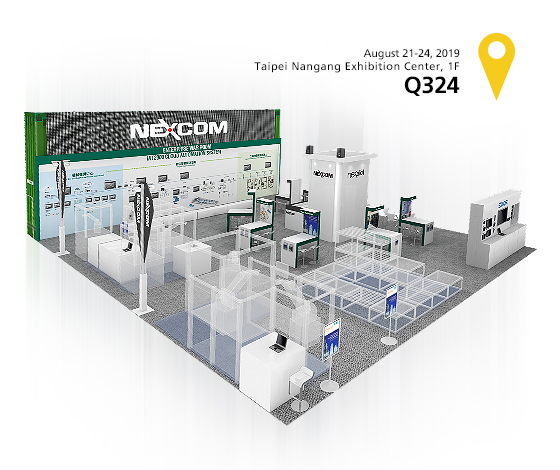 NEXCOM at TAIROS 2019 to Highlight Innovative Industrial Solutions