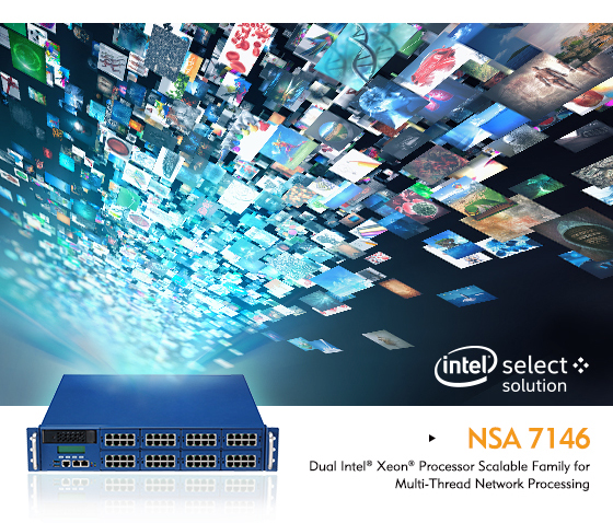 NEXCOM's NSA7146 Also a Verified Intel® Select Solution for Visual Cloud Delivery Network (CDN)