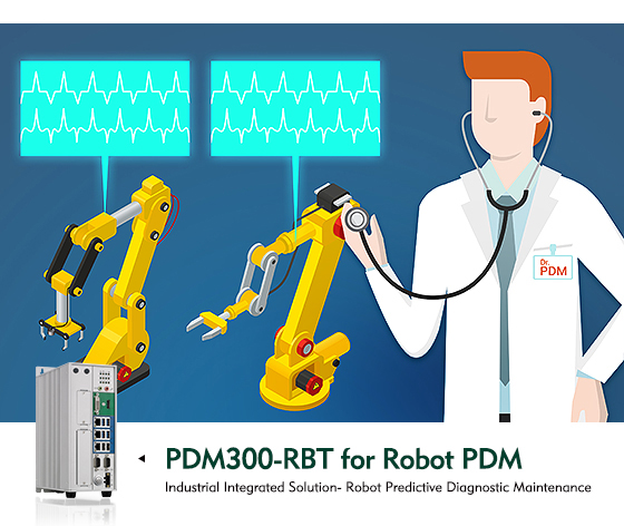 NexAIoT's PDM300-RBT Robot Predictive Diagnostic Maintenance Package: The Industry Game Changer