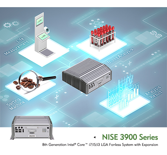 Stay Ahead of Business Rivals with the High-Performance NISE 3900 Fanless Computer