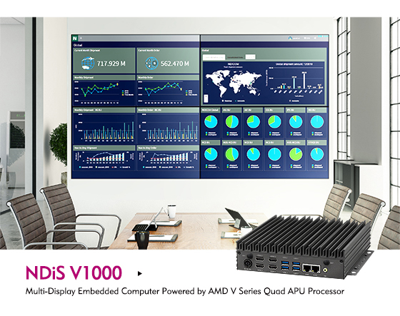 NDiS V1000: The 4K Digital Signage Player for Picture-Perfect Displays