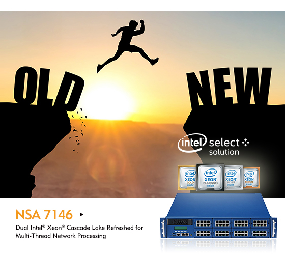 NEXCOM's NSA 7146 Equipped with the Latest 2nd Generation Intel® Xeon® Scalable Processor Family