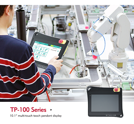 Discover the Comfort and Flexibility of NexCOBOT's TP-100-1 Teach Pendant
