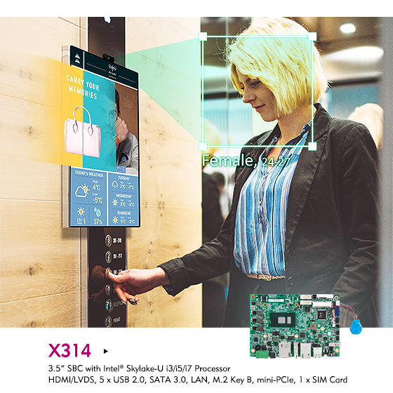Discover the Practicality of NEXCOM's X314 Embedded Board