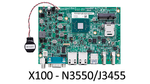 x embedded computing board - X100