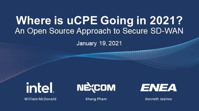 Where is uCPE Going in 2021?